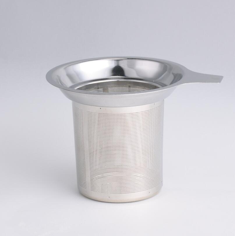 جديد وصول الفولاذ المقاوم للصدأ شبكة الشاي المساعد على التحلل قابلة لإعادة الاستخدام مصفاة فضفاض أوراق الشاي تصفية DHL فيديكس الشحن LX6492
