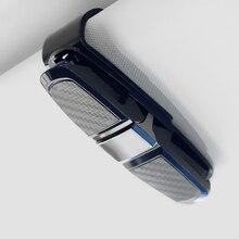 1Pc Car Sun Visor Sunglasses Holder Eyeglasses Clip Black Universal Ticket Card Clamp Fastener Cip A