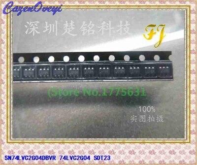 10 pçs/lote SN74LVC2G04DBVR 74LVC2G04 SOT-23 em estoque