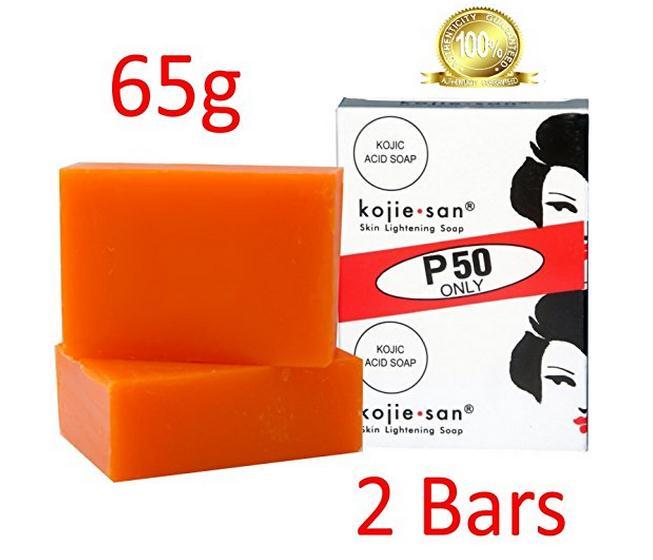 Free Delivery  Kojie San Skin Lightening Soap 65g LARGE  2 Bars