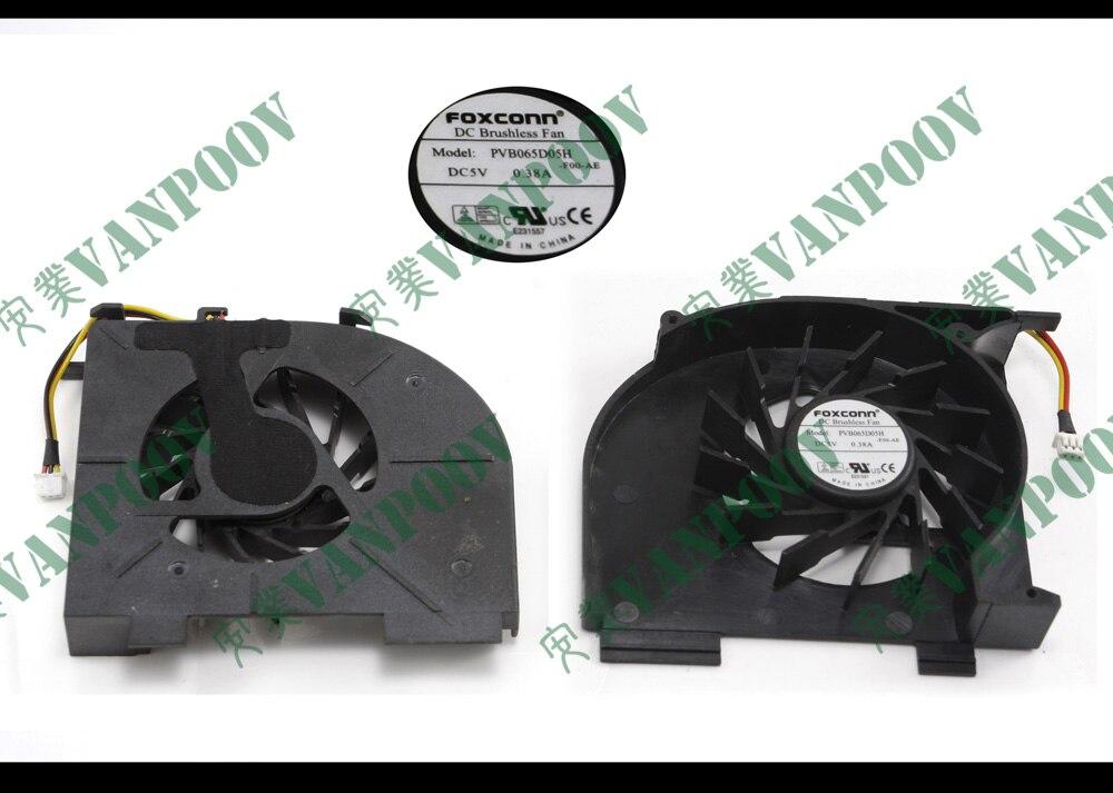Nuevo ventilador enfriador de CPU para ordenador portátil HP Pavilion DV5 dv5t-1000 dv6-1000 dv7-1000-1100-1200 PVB065D05H-F00-AE