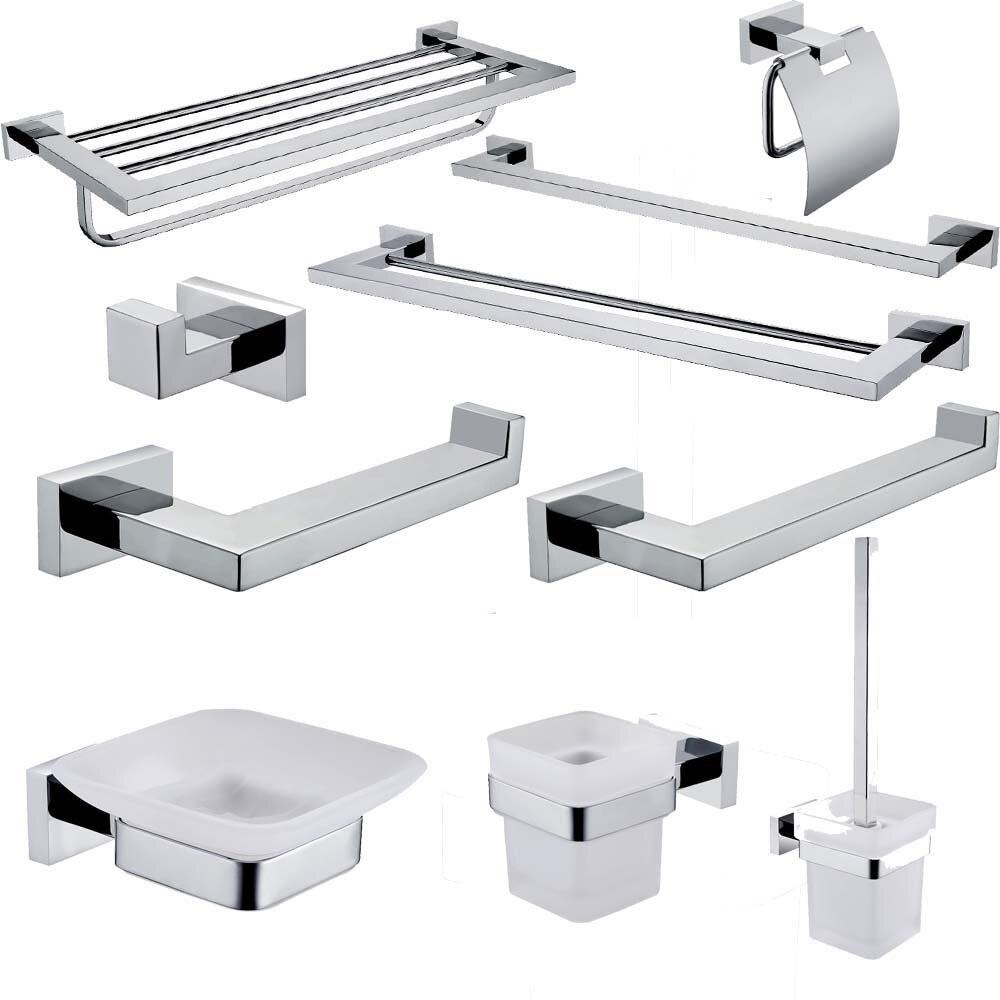 Лейден хромированная нержавеющая сталь набор оборудования для ванной