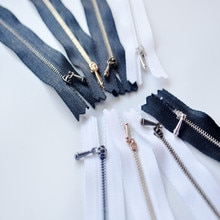 Ultra-mini pop kleding speciale rits bjd metalen koper 10 cm/12 cm rits 0 #0 ultra -kleine rits-blyth azone