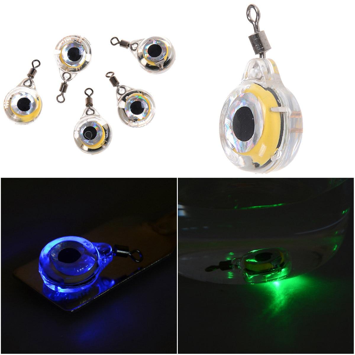 Светодиодная подводная приманка с глубокими каплями для подводных глаз, 1 шт. для рыбалки
