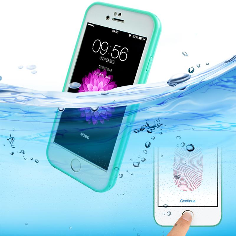 Яркие цвета, водонепроницаемый ударопрочный чехол для телефона iPhone X 10 7 8 Plus 6s 5S SE, мягкий силиконовый чехол из ТПУ, Передняя Задняя крышка, ...