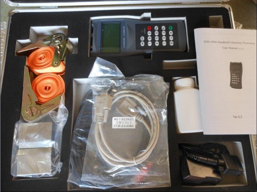 Ultrasonic Flow meter ( 15-100mm ) TS1 sensor ( -30C - +160C )