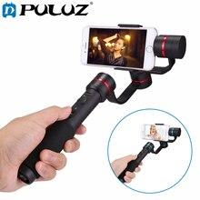 "PULUZ G1 3-المحور يده Selfie الهاتف Gimbal Steadicam استقرار المشبك جبل ل 4.7-5.5 ""الهواتف الذكية ، 360 درجة الهاتف gimbal"