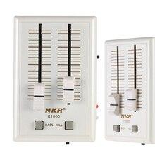 K1000 2 Ch Profesyonel Cep Cep Telefonu Ses ses mikseri Taşınabilir Kulaklık Ses Kartı kulaklık amplifikatörü USB DJ ses mikseri