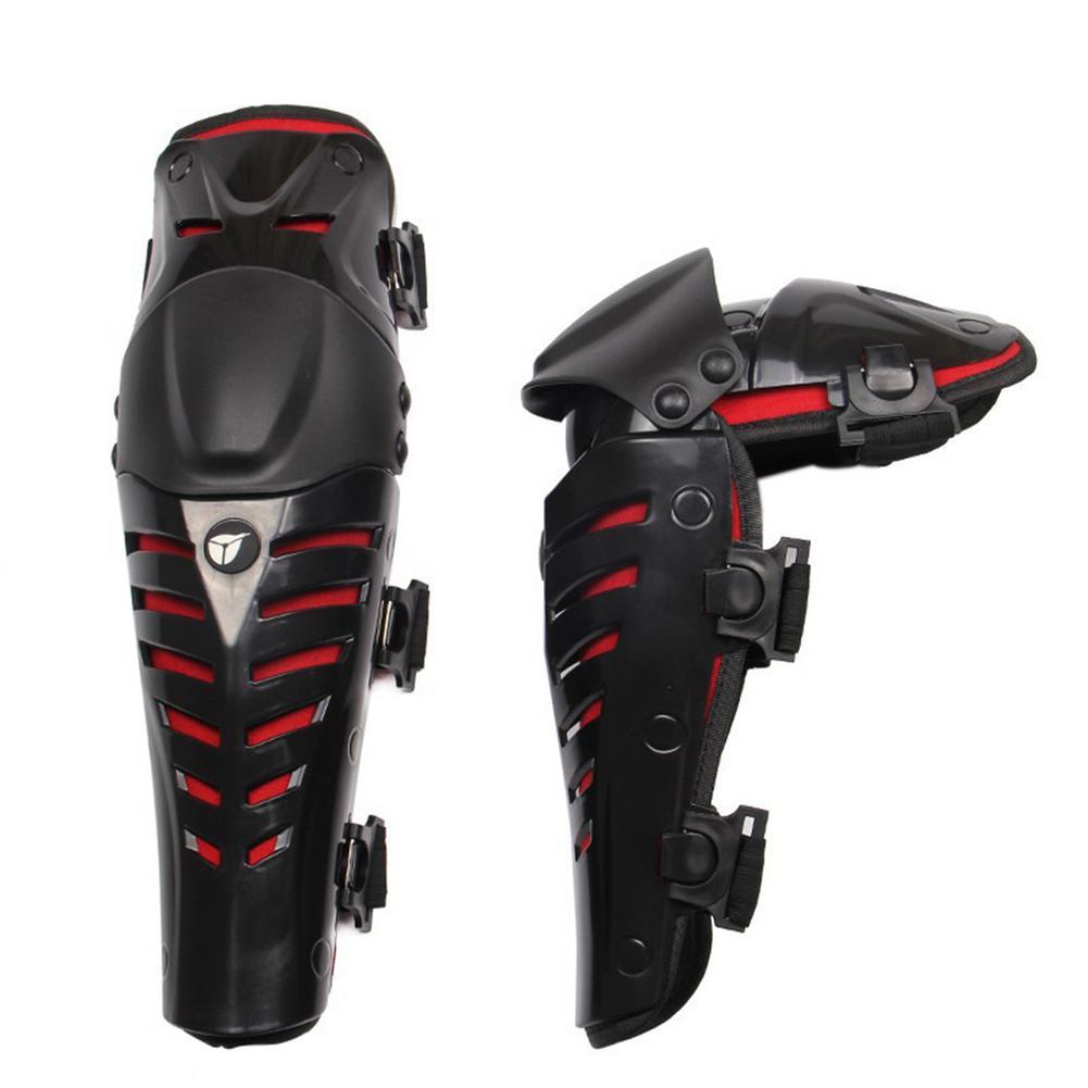 Rodilleras de motocicleta Protector de rodilla para Moto Protector de rodilla de Moto Protector de rodilla Anti-caída Ridng rodillera soporte negro