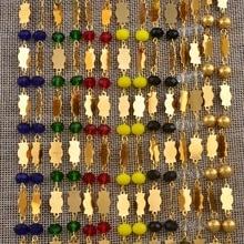 Anniyo 마샬 비즈 전용 목걸이 여성용 볼 체인 미크로네시아 Chuuk Jewelry Guam Gifts (펜던트 제외) #126906