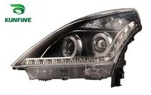 Paire de phares de voiture pour NISSAN TEANA 2006-11   Feu de réglage avec Angel eyes bi-xénon, objectif de projet, feu de jour