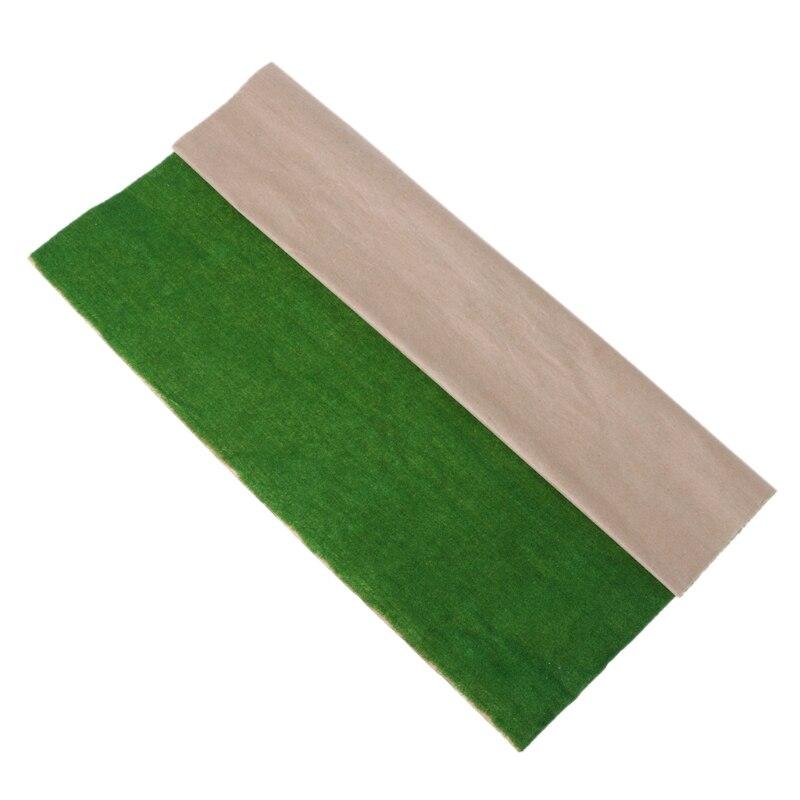 Коврик для травы 50х50 см, модель, расположение пейзажей, газон, украшение для дома