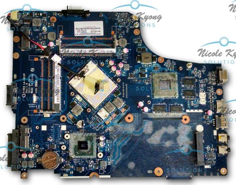 Placa base P7YE0 LA-6911P MB.RK002.002 MB.RCZ02.002 MB.RCY02.002 HM65 para Acer Aspire 7750 7750G 7750Z