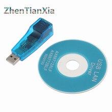 USB 2.0 Zu LAN RJ45 Ethernet Netzwerkkarte Adapter USB RJ45 Ethernet Konverter Für Win7 Win8 Tablet PC Laptop
