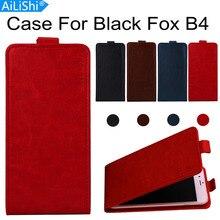 AiLiShi étui pour renard noir B4 étui de luxe en cuir PU Fox B4 noir exclusif 100% téléphone protéger la peau de la couverture + suivi en Stock