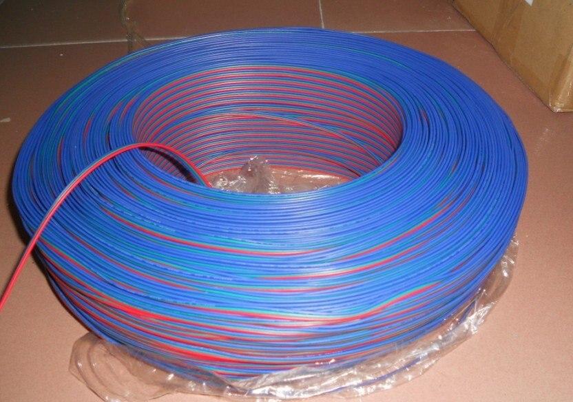 50 متر/وحدة 3pin RGB 18AWG كابل ل led بكسل وحدة