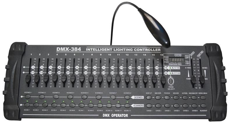 Fast shipping DMX512 384 Channels Dmx light Console DMX Controller DJ controller 16 slider