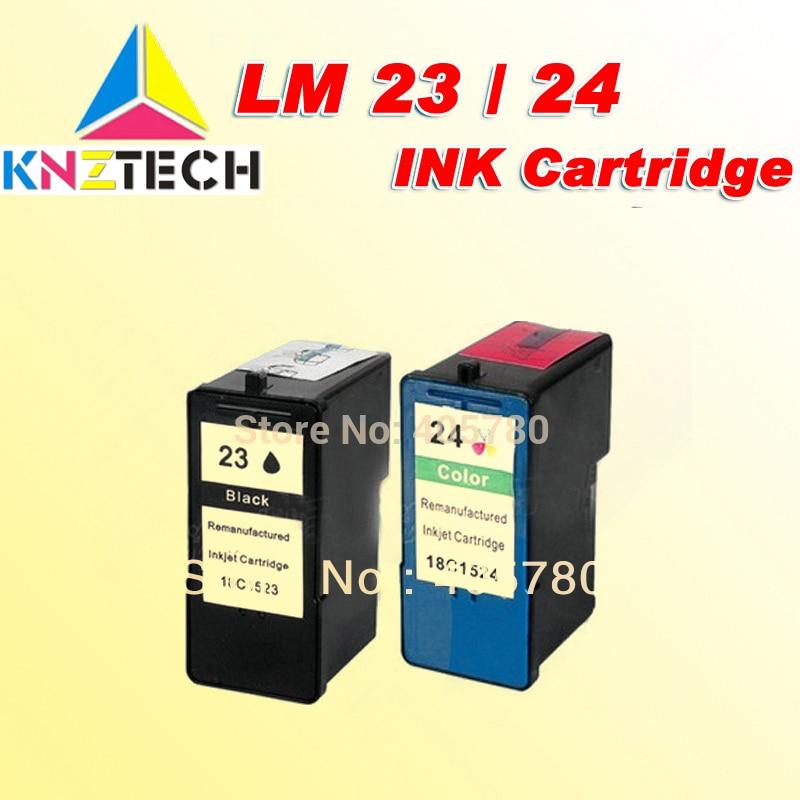 LM23/cartucho de TINTA compatível para Lexmark LM24 18C1523/18C1524/Lexmark X3530/X3550/X4530/X4550 /X5070/X5370/Z1420/Z1410
