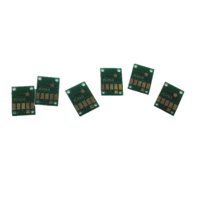 6 цветов 970 971 PGI-970 СНПЧ Заправляемый картридж с постоянным чипом для принтера canon PIXMA MG7790