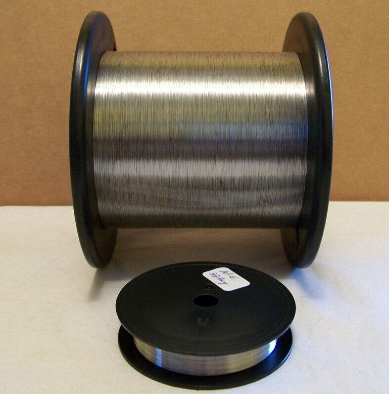 Alambre de corte de resistencia térmica de 0,4mm y 100 metros, 80 20 NiCr, alambre nicromo para bricolaje
