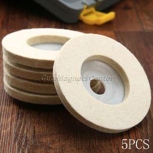 Image 5 - 5 шт. 4 дюйма 100 мм шерстяные полировальные диски, полировальные диски, угловая шлифовальная машина, войлочный полировальный диск для металла, мрамора, стекла, керамики