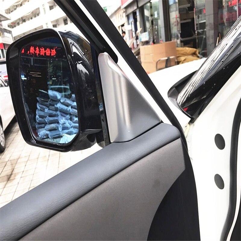 Cubierta de coche para Nissan Armada Patrol Royale Nismo Infiniti QX56 QX80 Y62 2010-2018 moldura triangular interior de pilar de plástico