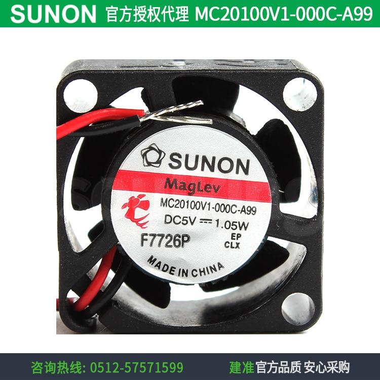 جديد SUNON MC20100V1-000C-A99 2010 5 فولت 0.21A تيار مستمر مروحة التبريد