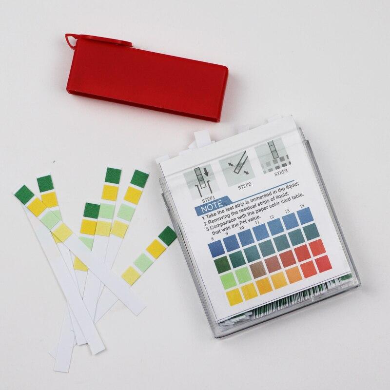 100PCS PH 0-14 Medical Litmus Test Paper Body Strips Alkaline Acid Water Saliva Urine Universal Special Indicator