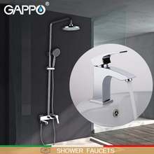 GAPPO Shower Faucets Bathtub Faucets bath tub taps brass basin mixer taps waterfall bathroom faucet basin faucet