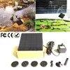 Kit de pompe à eau de fontaine à énergie solaire extérieure 200L/H panneau solaire fontaine à énergie solaire flottante pour jardin d'étang de bain d'oiseau