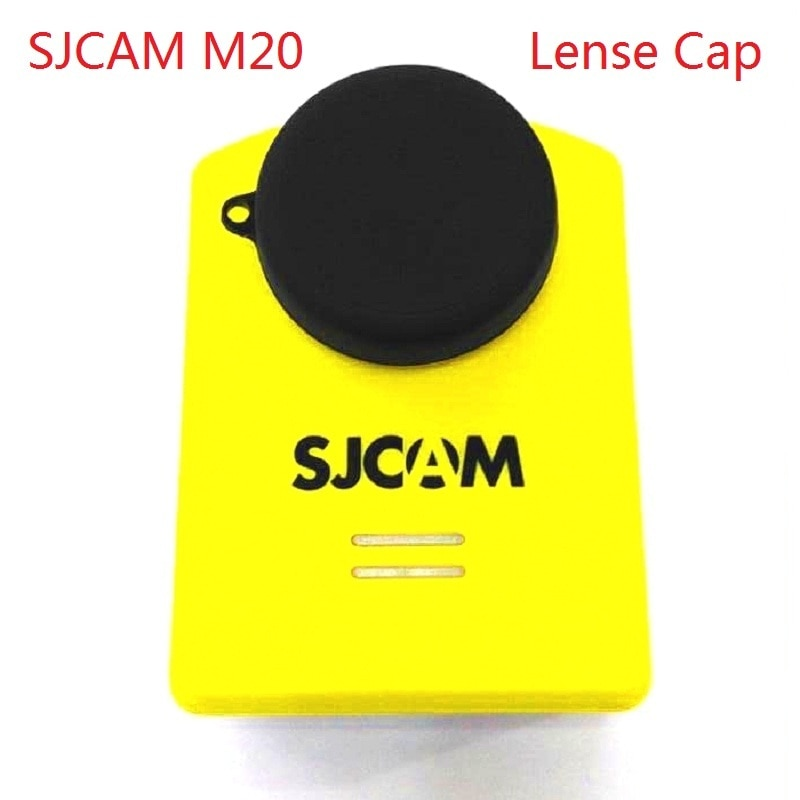 Clownfish for SJCAM M20 Sport Camera protective Accessories Silicone Lens Cap protect Cover For Original SJCAM M20 Action camera