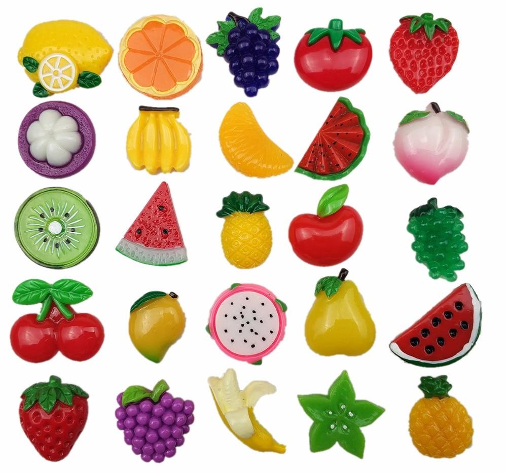 25 шт./компл. креативные фрукты сильные неодимовые магниты на холодильник украшение на холодильник магнит доска фото офис сообщение