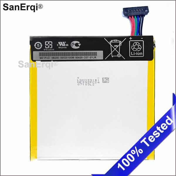 3950mAh C11P1304 запасной аккумулятор планшетных ПК для Asus MEMO PAD HD 7 ME173X HD7 ME173 K00B литий-полимерный аккумулятор