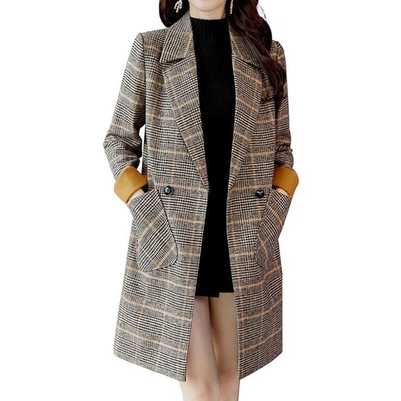 Gabardina de moda Manteau Femme Hiver Abrigo de Mujer para las mujeres...