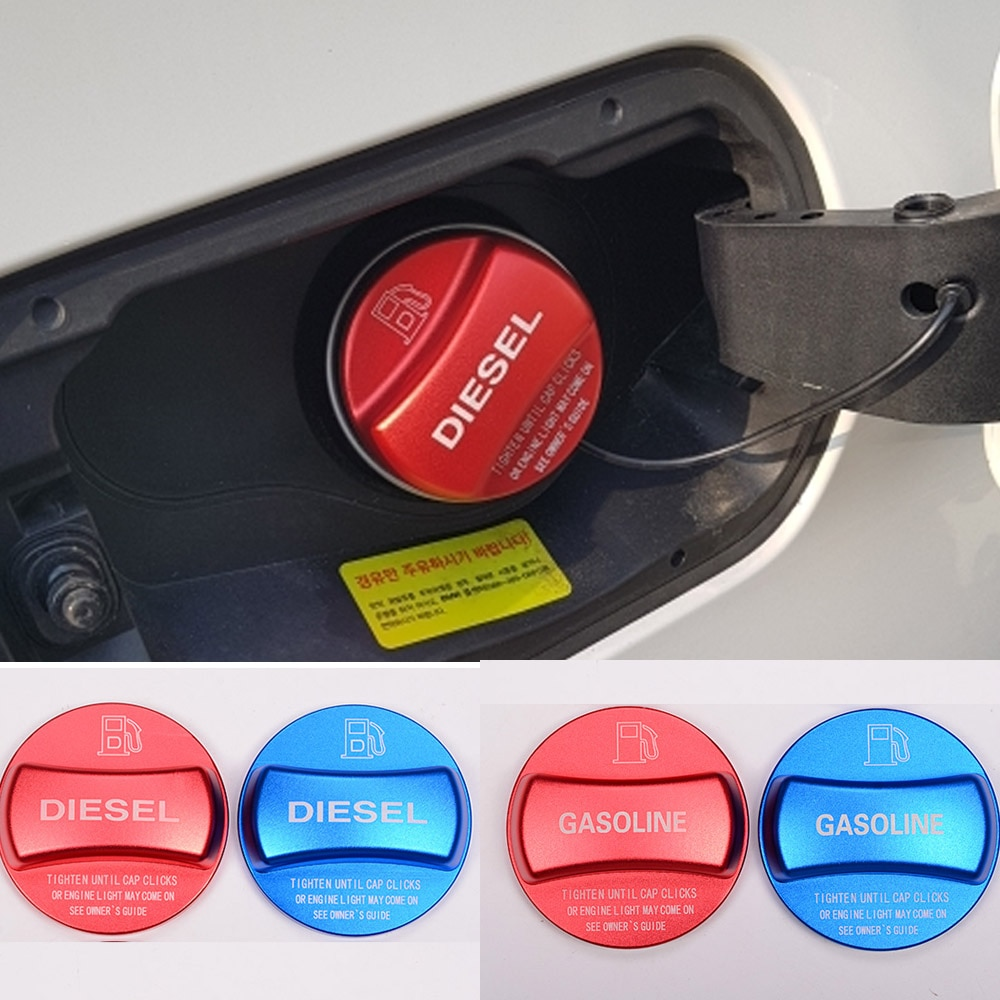 Para BMW X1 X2 X3 X4 X5 X6 F10 F15 F16 F25 F26 F30 F34 F35 F48 F47 G30 G38, tapa de cubierta de tanque de combustible a Gas y diésel para coche, accesorios