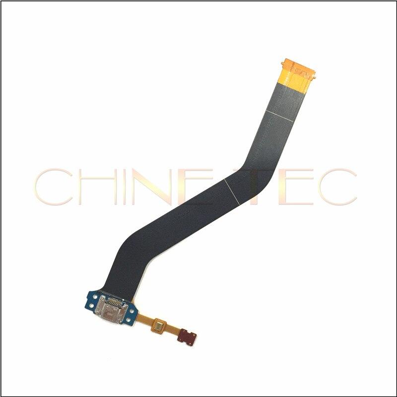Nuevo cargador, puerto de carga, USB Dock Connector Flex Cable Ribbon para Samsung Galaxy Tab 4 10,1 T530 T535 T531 10 piezas,