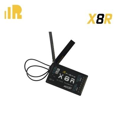 Aerops FrSky 2,4G S. puerto 8/16ch receptor de telemetría X8R para antena Taranis X9D-PCB