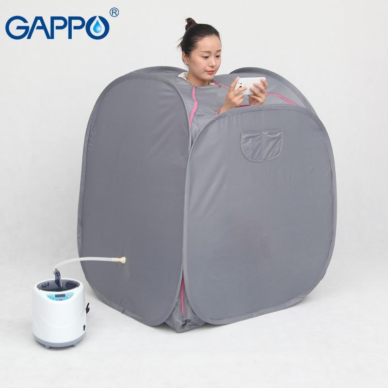 GAPPO-Sauna à vapeur   Combinaisons de sauna pour la peau, perte de poids, chambres de Sauna à domicile, SPA de bain avec sac de sauna