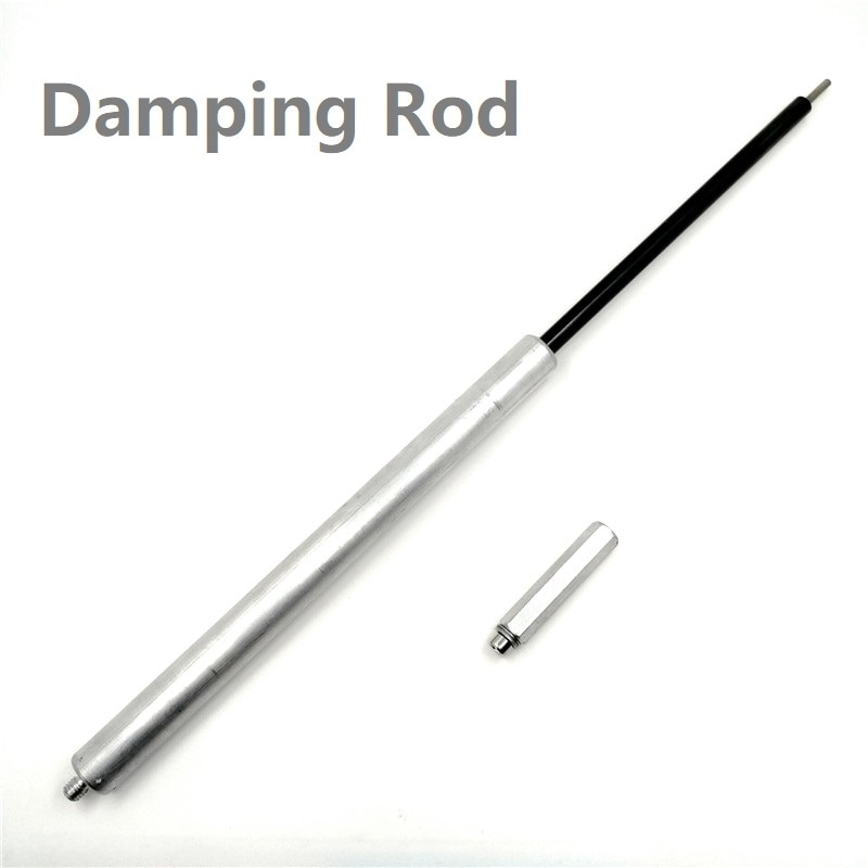 Bicycle Fork Rod Damping Adjustable Shock Absorber Front Fork Rod MTB Mountain Bike Aluminum Alloy Front Fork Part