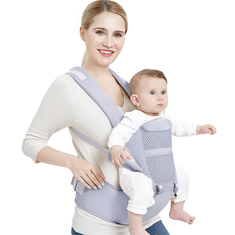 0-48 Months Ergonomic Baby Carrier Backpack With Hip Seat For Newborn Multi-function Infant Sling Wrap Waist Stool Baby Kangaroo