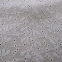 xery 2219 cotton hollowout embroidery woven fabricxery 2219