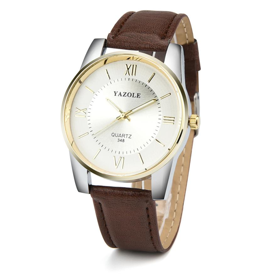 NEW Luxury Brand Men Sport Watches Men's Quartz Clock Man Army Military Leather Wrist Watch Relogio