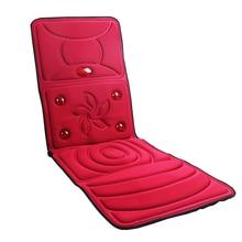 Masseur complet du corps soins de santé moniteurs de santé chauffage infrarouge lointain matelas coussin Vibration tête corps Massage des pieds