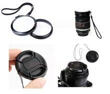 43 49 52 55 58 62 67 72 77mm Balance des Blancs Lens Cap avec filtre Mont + Lens cover protection pour 5D2 5D3 60D D3200 D3100 5D4 6D