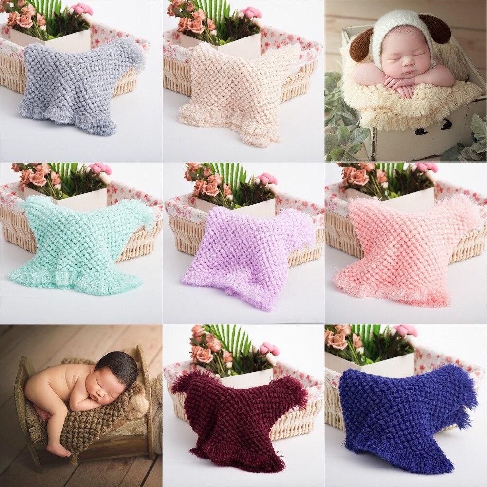 Реквизит для фотосъемки новорожденных одеяла для студии детское одеяло для фотосъемки вязаный реквизит для фотосъемки аксессуары для детс...