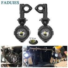 FADUIES fendinebbia per moto per BMW moto LED fendinebbia ausiliario lampada di guida per BMW R1200GS/ADV K1600 R1200GS F800GS