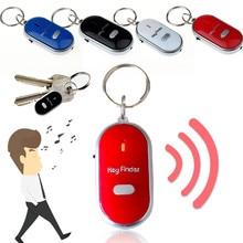 LED Light Torch Remote Sound Control Lost Key Finder Locator Keychain Mini old age anti - loss device Alarm Locator Track