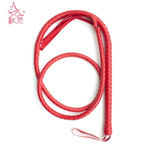 BDSM Whip Bondage  Adult Sex Toys For Couples  190 CM Long Whip PU Leather For Woman Spanking Paddle Adult Game Erotic Toy