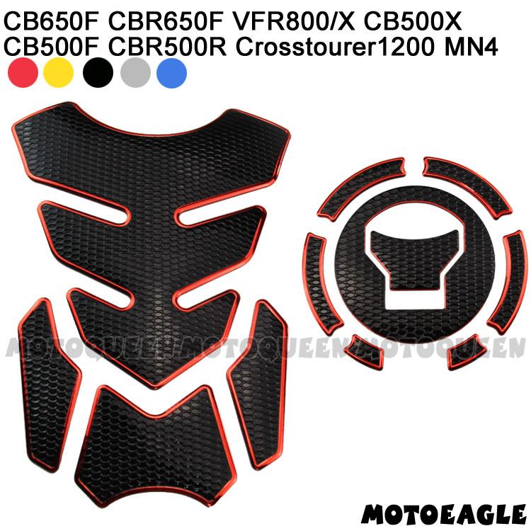 3D de la motocicleta de combustible de Gas de aceite protector para almohadilla de depósito adhesivos pegatinas para Honda CB650F CBR650F VFR800X VFR800 CBR500R CB500X CB500F MN4
