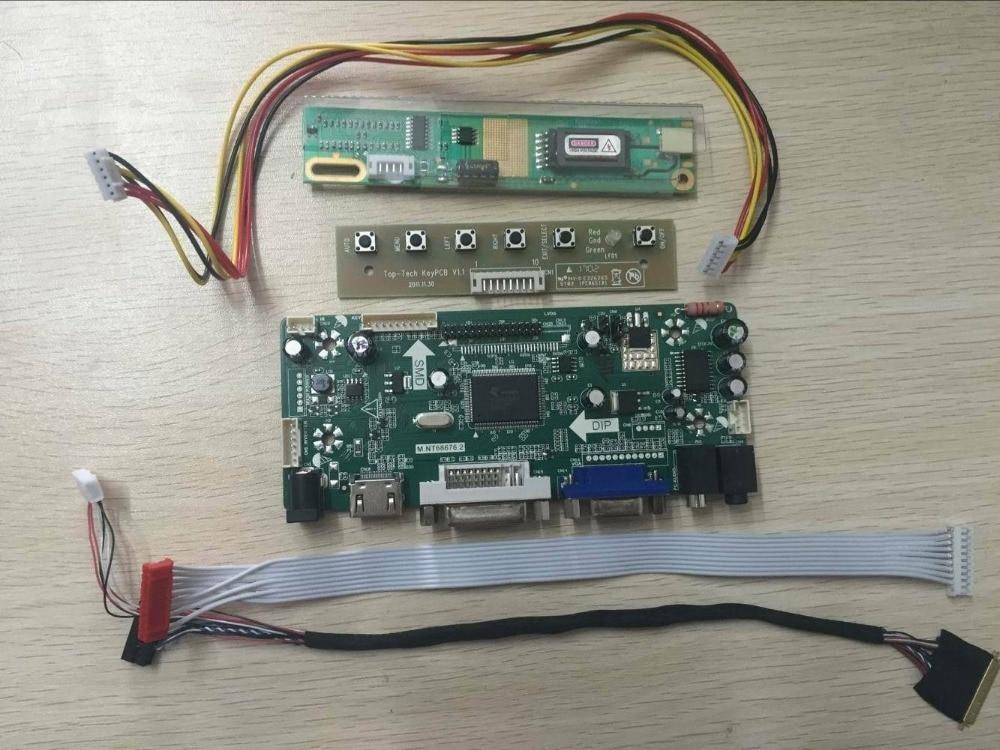 Latumab kit de controlador de painel, hdmi + dvi + vga led, placa de controlador para m240hw01 v.b 1920x1080, frete grátis